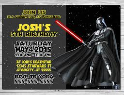 star wars birthday invite template 12 star wars birthday party invitations free psd vector eps ai