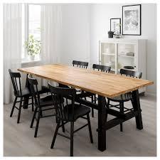 Skogsta Norraryd Tisch Und 6 Stühle Akazie Schwarz In 2019