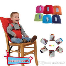 candy colors baby portable seat cover sack n seat child safety seat cover infant upgrate toddler eat chair seat belt