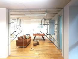 frosted glass door barn french doors interior office australia