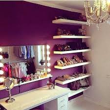 Purple Floating Shelves Interesting Teenage Girl Room Color Ideas 32 Floating Shelves Teenage Girl Room