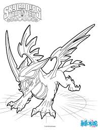 Black Dragon Coloring Sheet From The