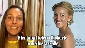 Tennis: Jelena Djokovic tappt erneut in Instagram-Falle - Blick