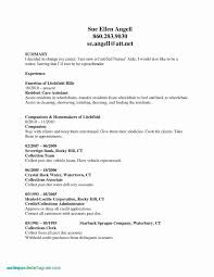 Child Acting Resume Template No Experience Inspirational Non