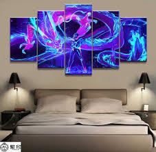 <b>Painting</b> Wall <b>Art</b> Game <b>Poster</b> Canvas Printed <b>Modern</b> 5 Panel ...