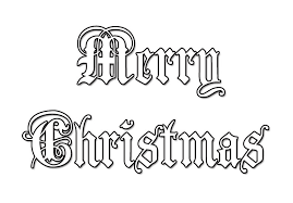 Small Picture Merry Christmas Coloring Pages Get Coloring Pages