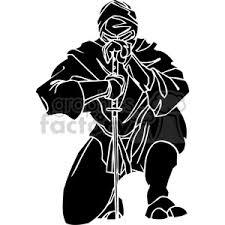 ninja clipart black and white. Simple And Ninja Clipart 024 Throughout Ninja Clipart Black And White B
