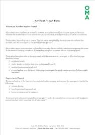 Free Construction Job Site Incident Report Form Templates At