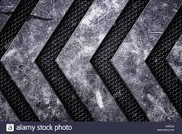 Grunge Metal Background Black Metal Grille On Metal Plate Material