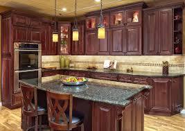 kitchen backsplash light cherry cabinets. Cherry Cabinets Kitchen Unique Light Backsplash