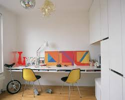 home office design quirky. Home Office With Floating Shelves Design Quirky H