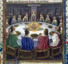 arthurian legends could this be the original round table of king arthur