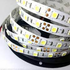 Đèn led dây dán tường SMD5050 1 chip 12V - Màu Trắng