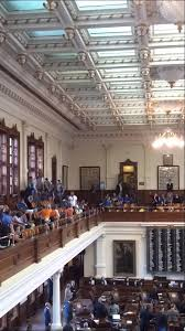 police ing rowdy pro aborts from house chambers in austin tx