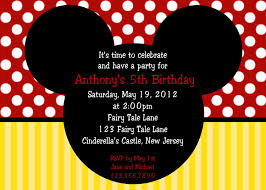 mickey and minnie invitation templates photo mickey mouse birthday invitations gse bookbinder co