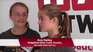 HAN FCIAC Fall Preview: Ridgefield Girls Cross Country 2016 - YouTube