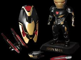 Click to play iron man coloring game for free right now! Iron Man Goes Black And Gold With Beast Kingdom