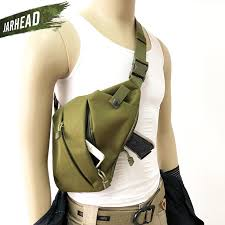 <b>Outdoor Tactical</b> Storage Gun Holster Shoulder Bags Men Anti theft ...