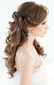 Bridal Hairstyles Long Hair Romantic Waves Wedding Hairstyle Semi
