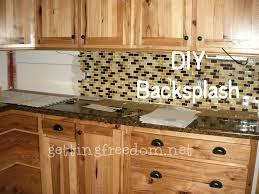 tile backsplash ...