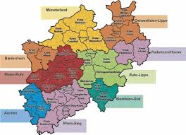 La capital de l'estat és düsseldorf. Map Of Nordrhein Westfalen Germany Google Search Genealogy Diagram World Map