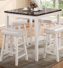 white marble table top. white marble top counter height table by poundex