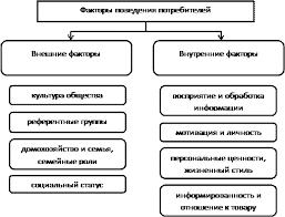 Реферат Социально демографические факторы влияющие на поведение  Наумов В Н предложил более подробную классификацию внешних факторов влияющих на покупательское поведение В соответствии с ней факторы детерминанты