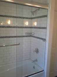 sliding shower doors with tub