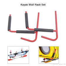 2018 kayak wall rack ladder wall mount storage hanger rack sit on top canoe fixing mount 2018 new arrival high quality from jiewei168 63 32 dhgate com