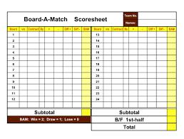 Bridge Score Sheet Template Bridge Workout Pics Bridge Score Sheet 8