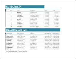 Sales Call List Sales Call List Of The Numbers To Be Called Is Provided By