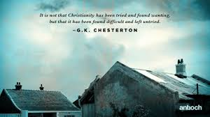 Gk Chesterton Quotes Adorable 48 Worthwhile Quotes Of GK Chesterton