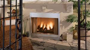 outdoor gas log fireplace kits ideas