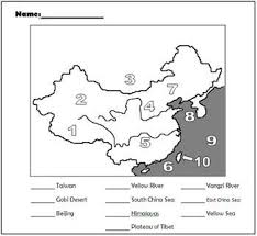 grade 7 east asia mr cozart Map Asia Test grade 7 east asia map of asia test