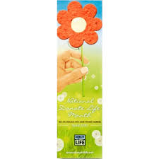 Biodegradable Paper With Flower Seeds Custom Biodegradable Bookmarks Wholesale Seed Paper Bookmarks