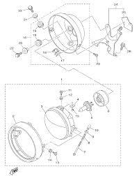2015 yamaha bolt r spec xvs95cfs headlight parts best oem headlight parts diagram for 2015 bolt r spec xvs95cfs motorcycles