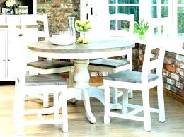 small kitchen dining table sets with chairs round and set