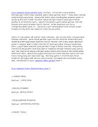 Mengisi jawaban sesuai dengan gambar. Doc Kunci Jawaban Tebak Gambar Level 7 Terbaru Docx Ahmad Suryanto Academia Edu
