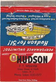 Weaver Brothers Volvo Hudson Motor Car Company Dealerships N