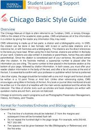 Chicago Basic Style Guide Pdf