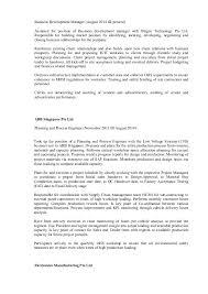 Professional Experience: Bizgen Technology Pte Ltd; 2.