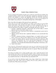 College Essay Examples New Transfer Essays Common App Example Essays Example Of A Personal
