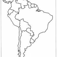Blank Maps Of South America Latin America Map Blank Map Of Usa X In