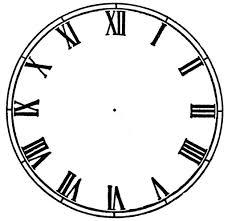 Blank Clock Face Printable Cliparts Co