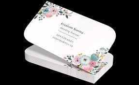 Shaped Business Cards Jukebox Print