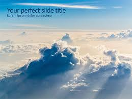 Clouds In The Sky Google Slides Theme And Powerpoint Template