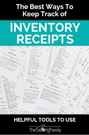 keep track of inventory best ways to keep track of inventory receipts for taxes