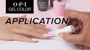 Opi Gelcolor Tutorial Application