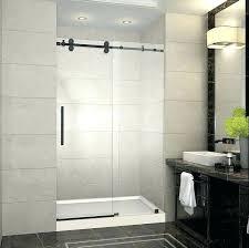 diy glass shower door cleaner shower x completely sliding shower door w base in oil industrial