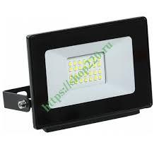Купить <b>Прожектор светодиодный СДО</b> 06-20 20W 6500K 1600Lm ...